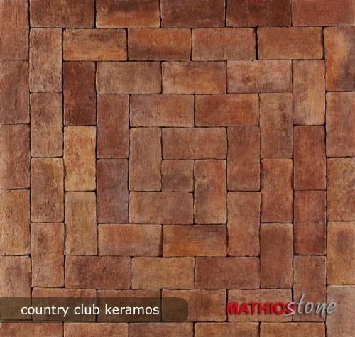 dlazba, dlazbove kocky country club keramos