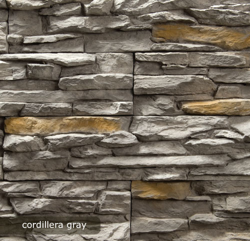 vonkajsi, vnutorny obklad cordillera gray