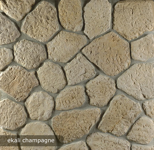 vonkajsi, vnutorny obklad ekali champagne