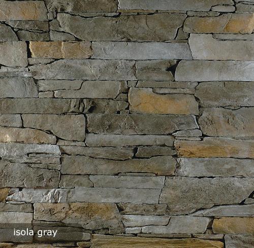 vonkajsi, vnutorny obklad isola gray