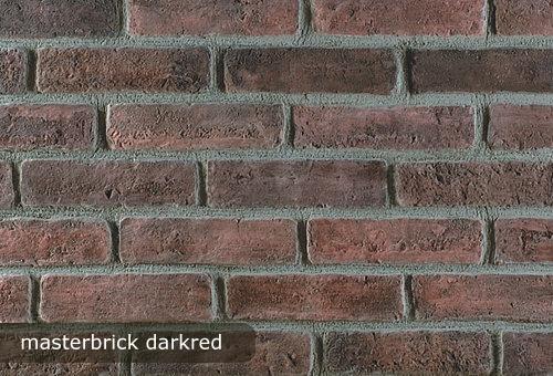 tehla, tehlovy obklad masterbrick darkred