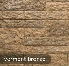 vonkajsi, vnutorny obklad vermont bronze