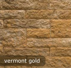 vonkajsi, vnutorny obklad vermont gold