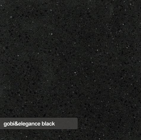kuchynske dosky, parapety, obklady dlazby technistone gobi and elegance black