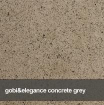 kuchynske dosky, parapety, obklady dlazby technistone gobi and elegance concrete grey